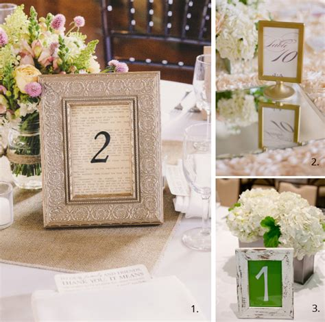 wedding table number ideas wedding table number ideas