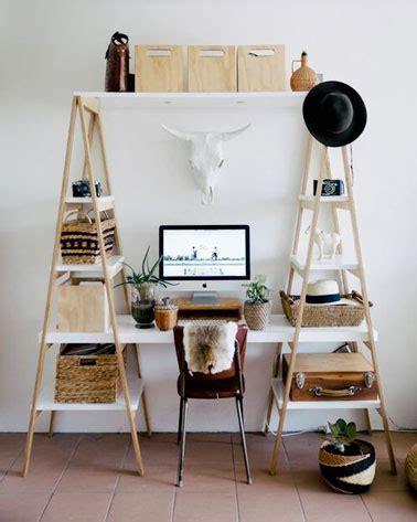bureau planche diy déco réalisez un bureau sympa avec des