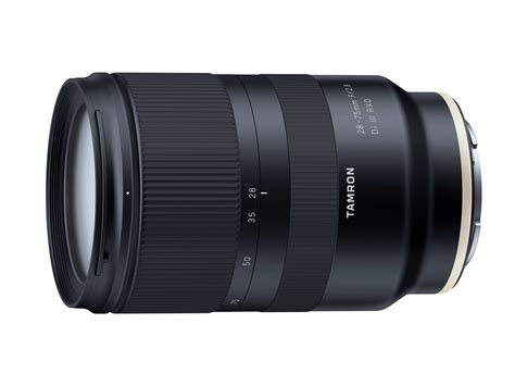 tamron launches 28 75mm f 2 8 di iii rxd lens for sony fe costs 800 digital photography review