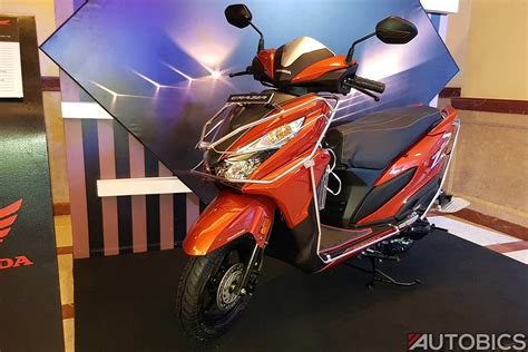 honda grazia accessories showcased   launch autobics