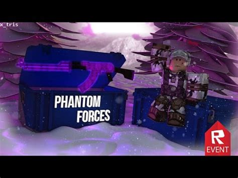 roblox phantom forces  case openings gameplay