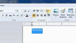 how to make a pamphlet on wordpad - wordpad for windows 7 complete tutorial hd youtube