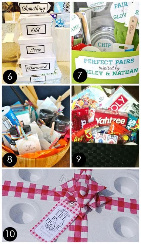 wedding gift basket ideas 60 best creative bridal shower gift ideas