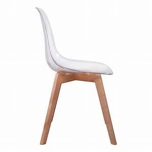But Chaise Transparente : chaise scandinave coque transparente ~ Teatrodelosmanantiales.com Idées de Décoration