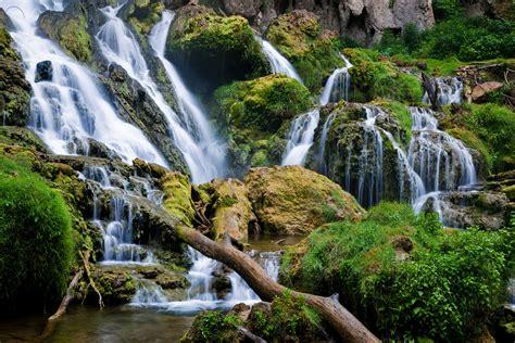 waterfall landscapes file waterfalls rocks landscape virginia forestwander jpg wikimedia commons