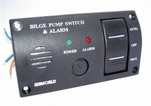 Seaworld 12v Bilge Switch And Alarm Panel