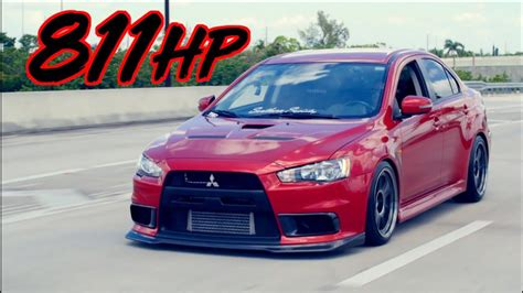 Sleeper Evo X Surprises Supercar On The Street!