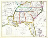 Printable Road Map Of Southeast United States | Printable ...