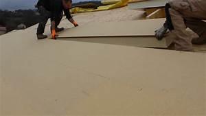 Spot Encastrable Exterieur Sous Toiture : isolation du toit par l 39 ext rieur avec plaques en polyur thane et sous toiture en fibres de bois ~ Melissatoandfro.com Idées de Décoration