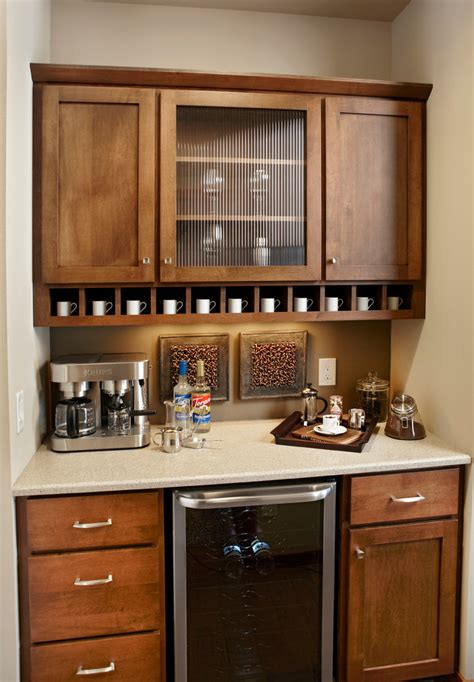 top of kitchen cabinet decor ideas coffee bar ideas kitchen traditional with wood mode
