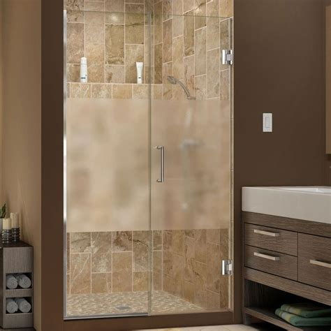frosted shower glass images  pinterest bath