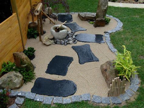 charmant modele de parterre exterieur 18 atmosphera mini jardin zen bouddha l 21 cm blanc pas
