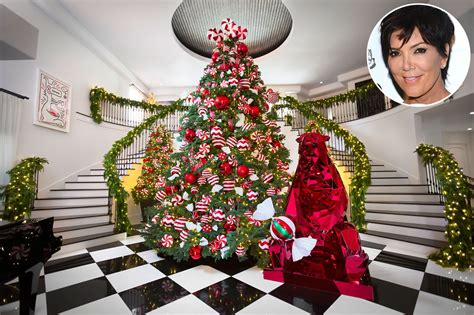 Christmas Kris Jenner Shows Off Kandylandchic Holiday