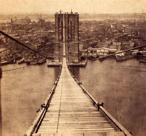 1870s Brooklyn Bridge Ny Cityscape Cool Blog Too