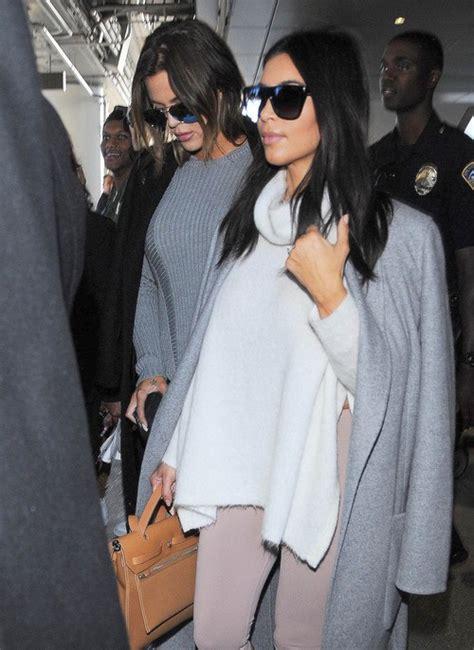 Kim & Khloe Kardashian Touch Down At LAX | Celeb Dirty Laundry