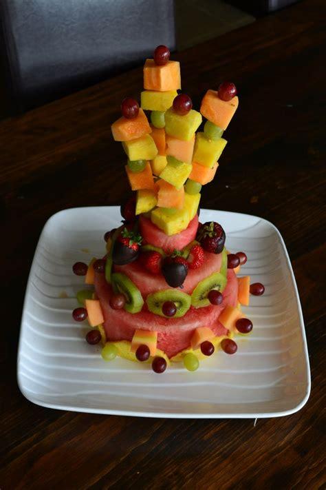 fruit  cakes images  pinterest fruit