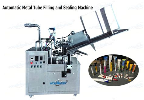 aluminum foil soft tube filling  sealing machine automatic pigment packaging machine