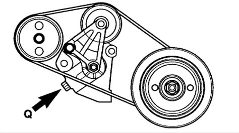 How Change The Alternator Belt Kia Sorento