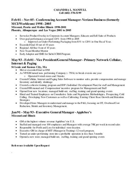 Opening Lines For Resumes by Casandra L Manfull Resume 09 Feb 2015 Account Manager