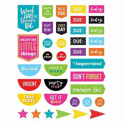 Stickers Planner Colorful Teacher Classroom