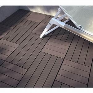 Terrasse En Caillebotis : caillebotis en bois composite pose clipser sols murs ~ Premium-room.com Idées de Décoration
