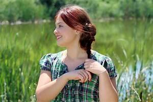 Rote Haare Grüne Augen : kostenlose foto natur gras m dchen frau haar rasen fotografie wiese blume see ~ Frokenaadalensverden.com Haus und Dekorationen