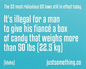 22 Weird And Crazy Us Laws Still In Effect Today Page 2 Of 2