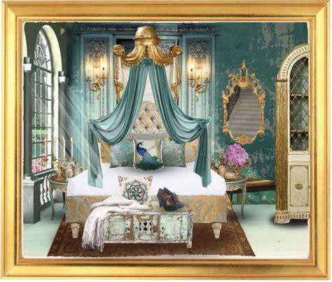gold  turquoise bedroom  kearalachelle