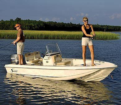 Scout Boats Bimini Top by Research Scout Boats 160 Sportfish Center Console Boat On