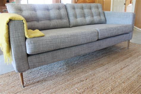 karlstad chair cover diy diy tufted sofas couches and headboards with comfort works