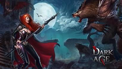Dark Age Vampire Fantasy Redhead Forsaken Games