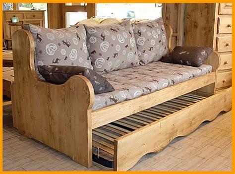 canape gigogne eco meubles de montagne meuble style savoyard