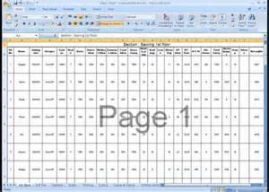 Salary Spreadsheet Salary Sheet Ms Excel File Sle For Hr Officer Compliance Solution Desk