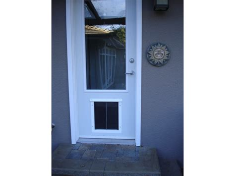 installations and pics doors cat doors pet doors