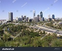 View Of Perth, Western Australia Skyline From The Anzac ...