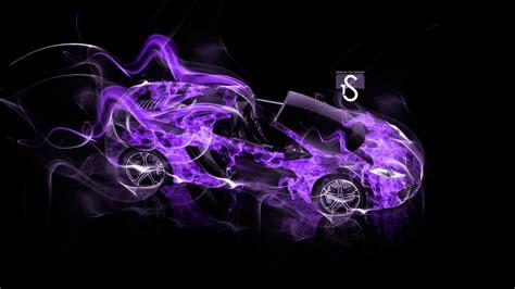 mclaren mp  spyder fire smoke car  el tony