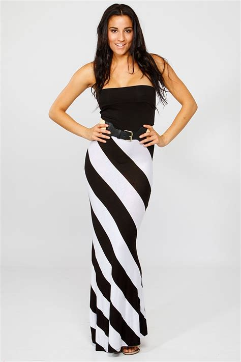 design a clothing line diagonal striped flared maxi dress cicihot dresses