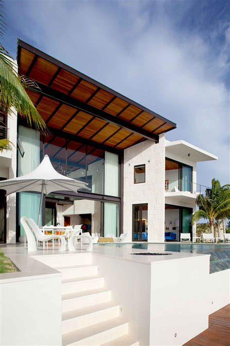 modern waterfront home bonaire  netherlands antilles