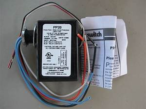 Sensor Switch Pp20 20a 120  277v Relay Circuit Protection