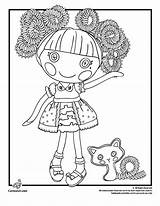 Coloring Pages Lalaloopsy Hair Doll Silly Crazy Printable Sparkles Jewel Insane Colouring Cartoon Cartoonjr Funny Jr Woojr Getcolorings Sheets Popular sketch template