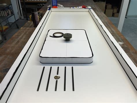 concrete countertop sink molds concrete countertop casting demo cheng concrete exchange