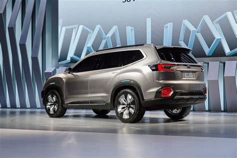 suv familial 7 places this is subaru s new viziv 7 mid size suv concept and it rivals vw s atlas carscoops