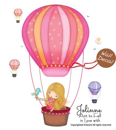wall decal hot air balloon nursery decals hot air balloon