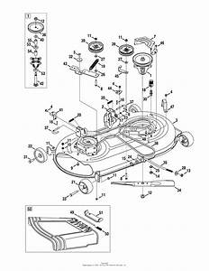 32 Craftsman 42 Mower Deck Belt Diagram