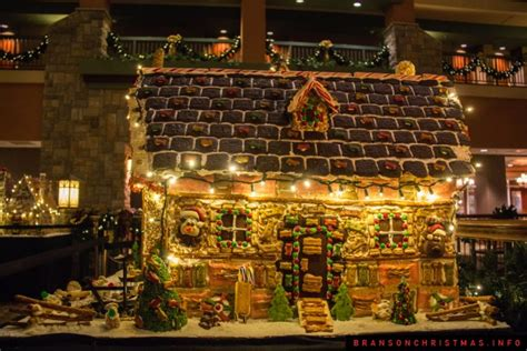 chateau   lakes gingerbread house