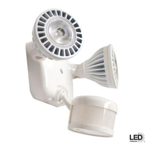 defiant led security light defiant 270 degree outdoor motion white led security light
