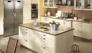 davausnet cuisine moderne ilot central table avec des With modele cuisine ilot central