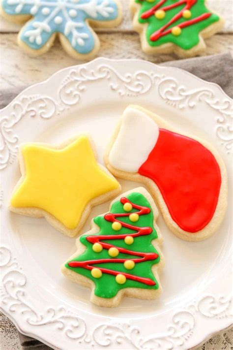 soft christmas cut  sugar cookies   bake