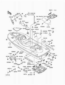 Kawasaki Jt1100-c1 1100 Stx Di Parts List And Diagram