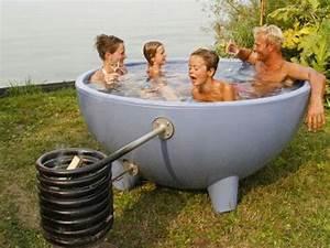 Fabriquer Un Jacuzzi : dutchtub un spa bulle ~ Melissatoandfro.com Idées de Décoration